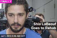 Shia LaBeouf Goes to Rehab