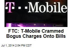 FTC: T-Mobile Crammed Bogus Charges Onto Bills