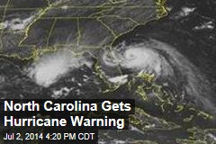 North Carolina Gets Hurricane Warning