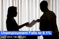 Unemployment Falls to 6.1%, Even as Claims Rise