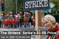 The Writers' Strike's $3.5B Price