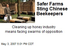 Safer Farms Sting Chinese Beekeepers