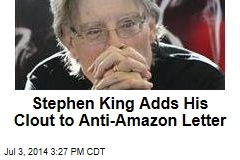 Stephen King Adds His Clout to Anti-Amazon Letter