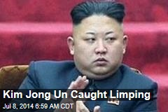 Kim Jong Un Caught Limping