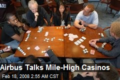 Airbus Talks Mile-High Casinos