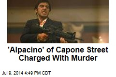 'Alpacino' of Capone Street Charged With Murder