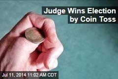 Judge Wins Election by Coin Toss