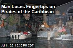 Man Loses Fingertips on Pirates of the Caribbean
