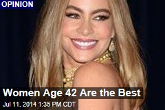 Women Age 42 Are the Best