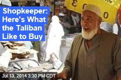 Shopkeeper: Taliban Buys Pricey Perfumes