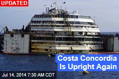 Costa Concordia Refloating Begins