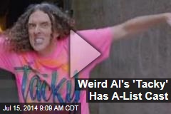 Weird Al's 'Tacky' Has A-List Cast