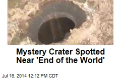 Mystery Crater Spotted Near 'End of the World'