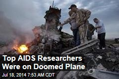 108 AIDS Delegates Were on Doomed Plane