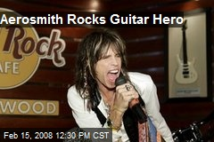 Aerosmith Rocks Guitar Hero