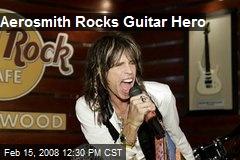 Aerosmith Rocks Guitar Hero