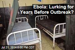 Ebola: Lurking for Years Before Outbreak?