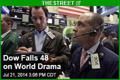 Dow Falls 48 on World Drama