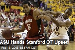 ASU Hands Stanford OT Upset