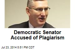 Democratic Senator Accused of Plagiarism