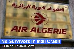France Sends Troops to Guard Mali Crash Site