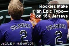 Rockies Make an Epic Typo— on 15K Jerseys