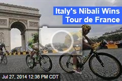 Italy's Nibali Wins Tour de France