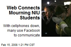 Web Connects Mourning NIU Students