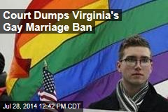 Court Dumps Virginia's Gay Marriage Ban