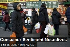 Consumer Sentiment Nosedives