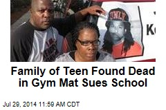 Family of Teen Found Dead in Gym Mat Sues School