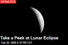 Take a Peek at Lunar Eclipse