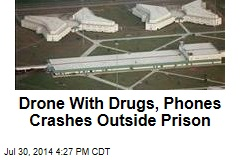 Drone With Drugs, Phones Crashes Outside Prison
