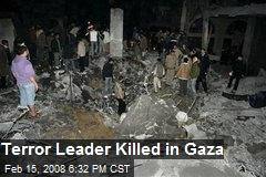 Terror Leader Killed in Gaza