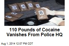 110 Pounds of Cocaine Vanishes From Police HQ