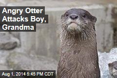 Grandma May Lose Eye After Otter Attack