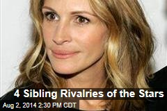 4 Sibling Rivalries of the Stars