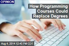 How Programming Courses Could Replace Degrees