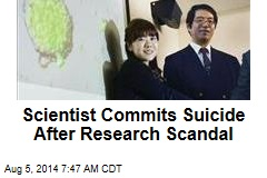 Scientist Commits Suicide After Research Scandal