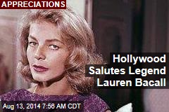 Hollywood Salutes Legend Lauren Bacall