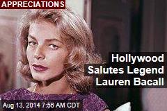 Hollywood Salutes Legend Lauren Bacall