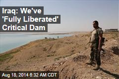 Iraq: We've 'Fully Liberated' Critical Dam