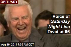 Voice of Saturday Night Live Dead at 96