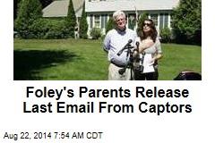Pope Consoles James Foley's Parents