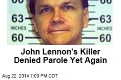 John Lennon's Killer Denied Parole Yet Again