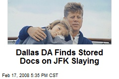 Dallas DA Finds Stored Docs on JFK Slaying
