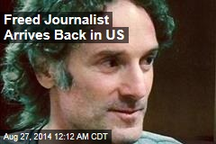Freed Journalist Arrives Back in US