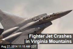 Fighter Jet Crashes in Virginia Mountains