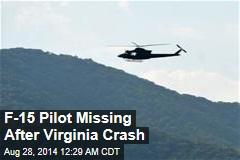 F-15 Pilot Missing After Virginia Crash
