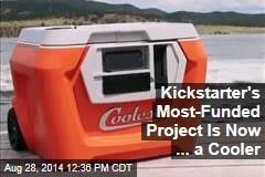 Kickstarter's Most-Funded Project Is Now ... a Cooler